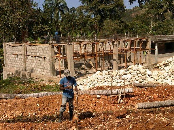 Voldrogue School Construction Continues to Progress