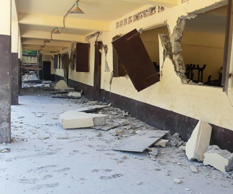 7.2 Magnitude Earthquake Strikes Southwest Haiti